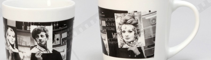 Mugs for 52-nd International Film Festival Karlovy Vary